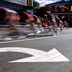 Bicycle Race, Portmouth, New Hampshire